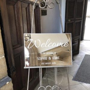 Acrylic Mirror Sign