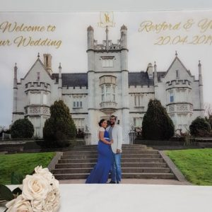 Large Photo Acrylic Sign
