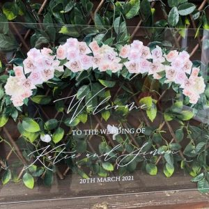 Rose Arch Clear Acrylic