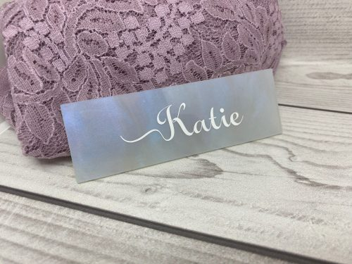 Pearl Acrylic Place Names