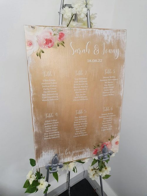 Painted Wood Table Plan